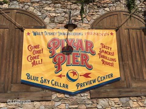 Pixar Pier Preview Center
