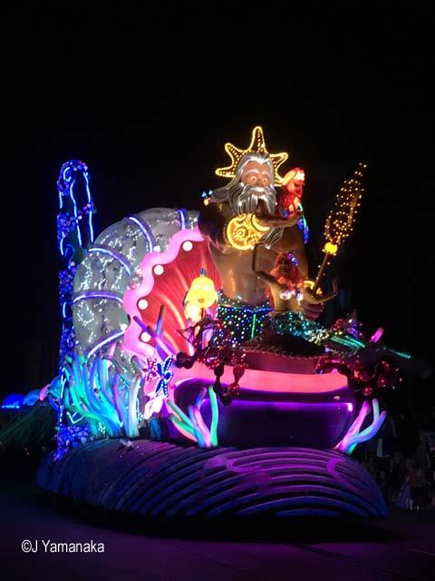 Pixar Fest Ariel float