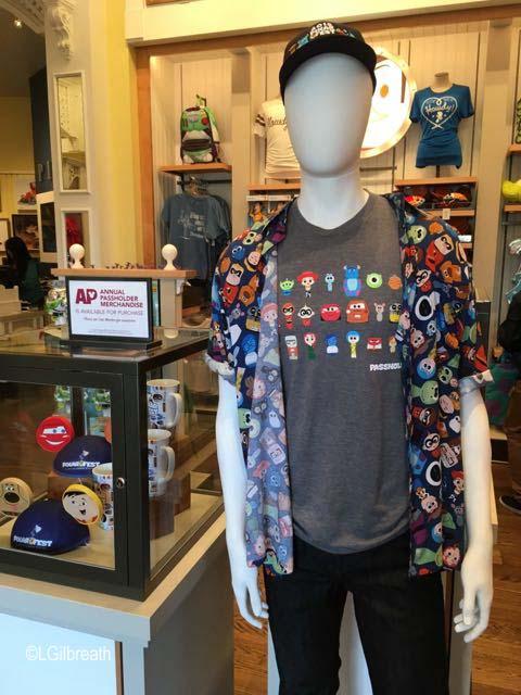 Pixar Fest merchandise