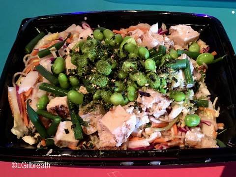 Pixar Fest Edamame Noodle Salad