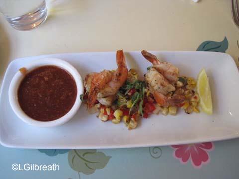 River Belle Terrace Grilled Shrimp