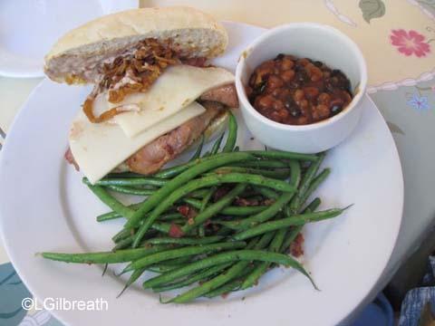 River Belle Terrace Beef Brisket Sandwich