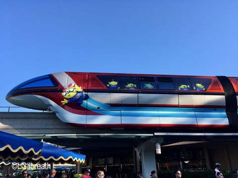 Toy Story Monorail