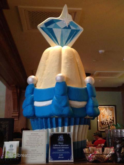 Disneyland Anniversary Cupcake