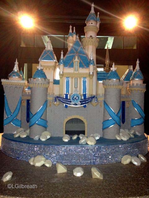 Sleeping Beauty Castle Cake