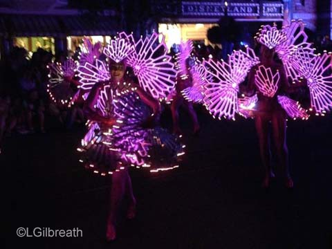 Paint the Night Coral Dancers