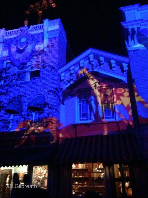 Disneyland Forever Lion King Projection
