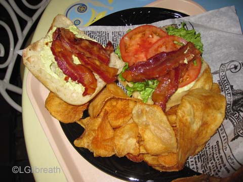 Jolly Holiday Artisan BLT Sandwich