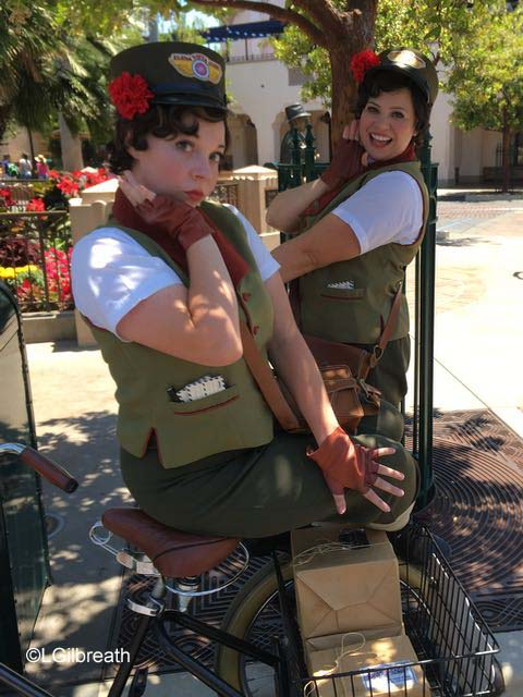 Citizens of Buena Vista Street Molly and Millie
