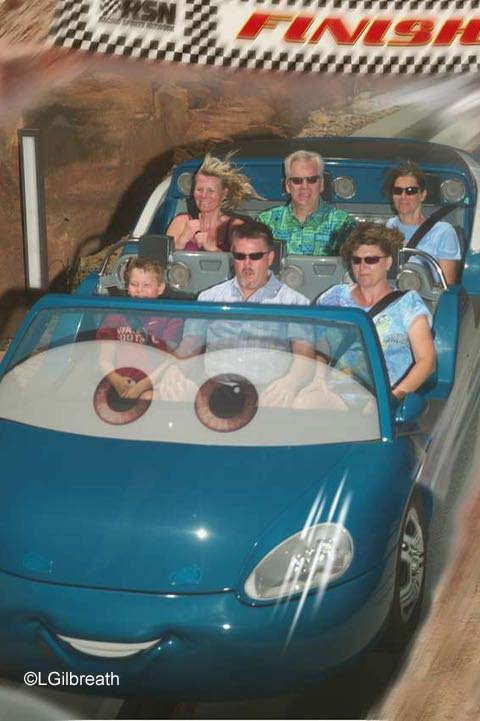 Radiator Springs Racers Photo