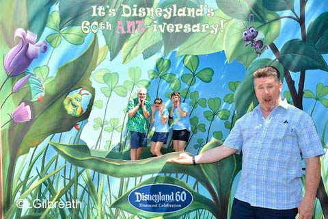Disneyland 60th Ant-iversary
