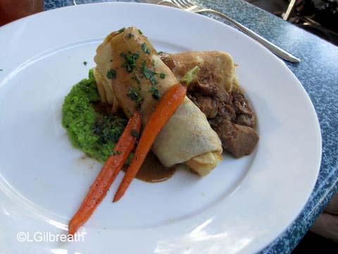 Cafe Orleans Braised Beef Crepe
