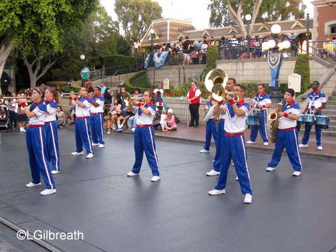 Disneyland All American College Band
