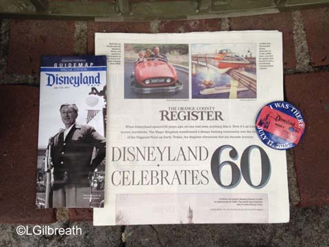 Disneyland 60th birthday gifts