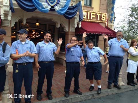 Disneyland 60th cast members