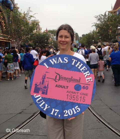 Disneyland 60th I was There