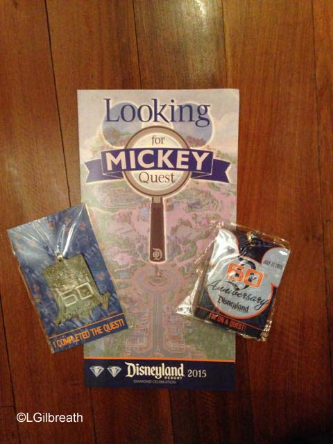 Disneyland Looking for Mickey Quest