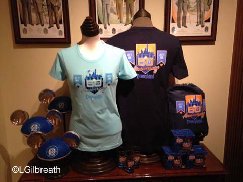 Disneyland 60th t-shirts