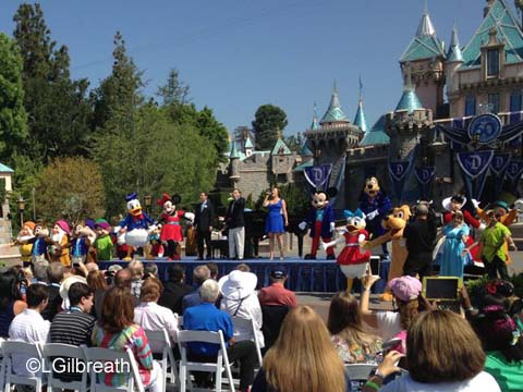 Happy Birthday dear Disneyland