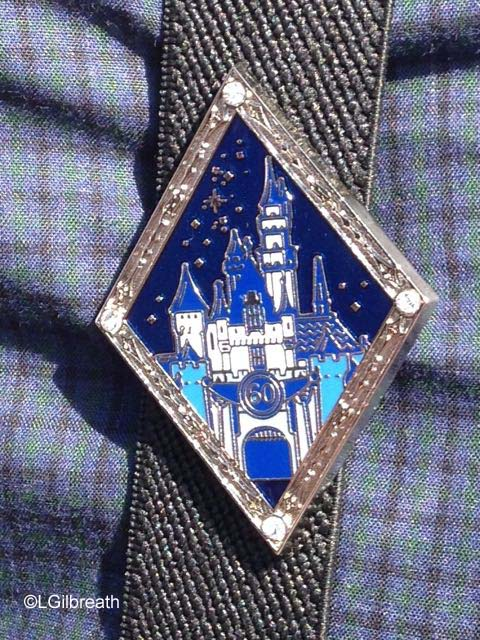 Disneyland 60th birthday cast member pin
