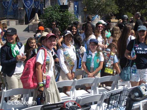 Disneyland Million Dollar Dazzle Girl  Scouts