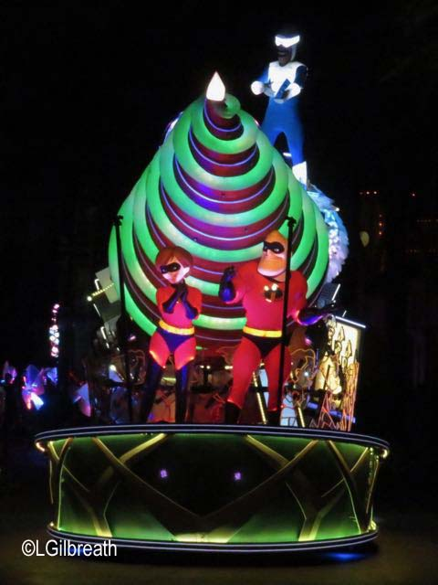 Paint the Night Incredibles float