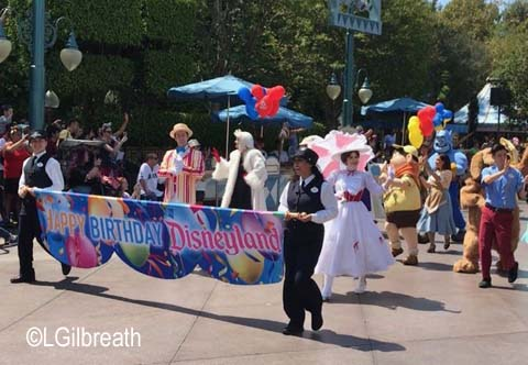 Disneyland 63rd Birthday Celebration