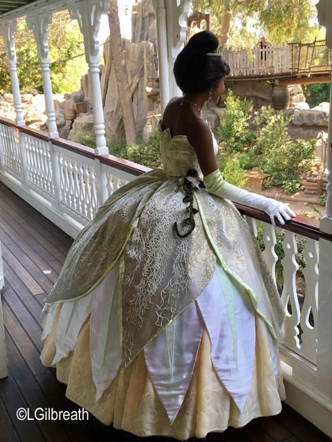 Princess Tiana Mark Twain Riverboat