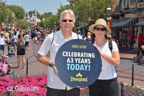 Disneyland 63rd Birthday