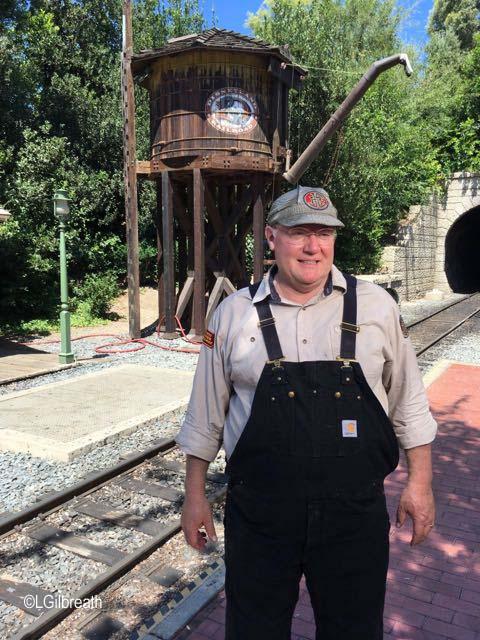 Train Engineer John Lasseter
