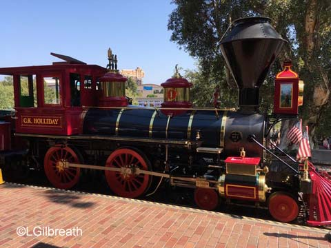 Disneyland CK Holliday train