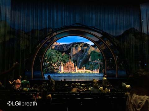 Frozen Hyperion stage view