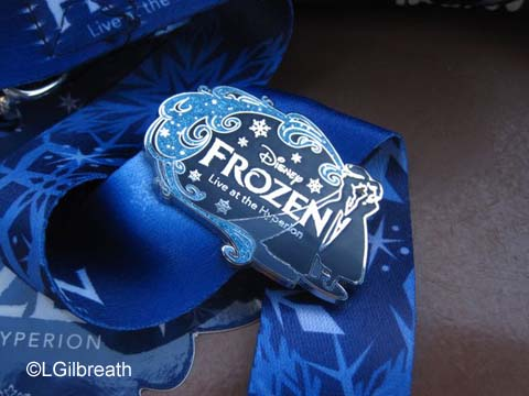 Review: Frozen Pre-Show Plus Lunch Dining Package