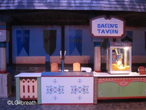 Frozen Pre-show Oaken's Tavern
