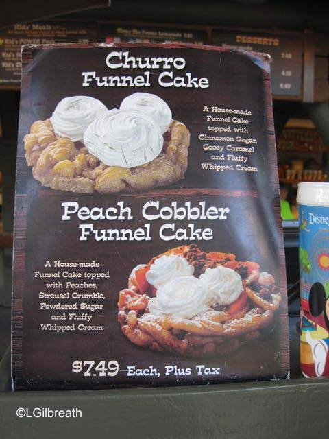 Hungry Bear Restaurant funnel cake specials