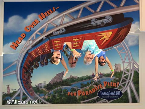 DCA California Screamin photo spot