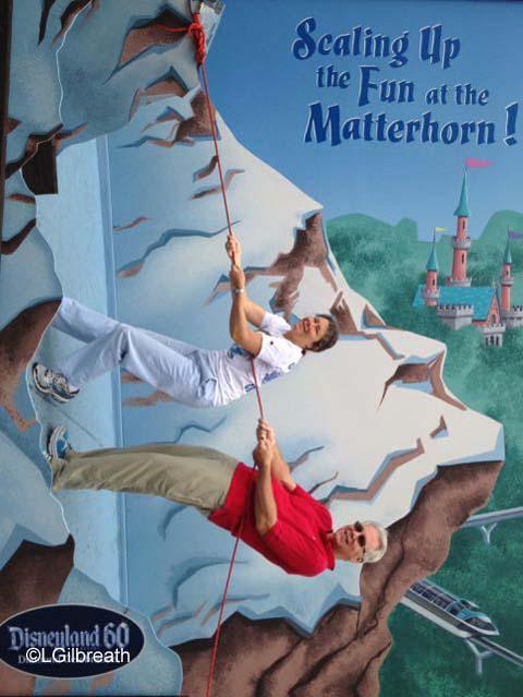 Disneyland Matterhorn Photo Spot