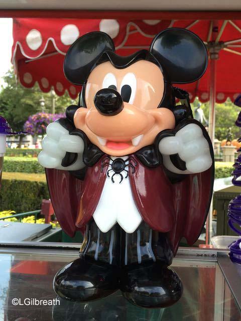 Halloween Vampire Mickey popcorn bucket
