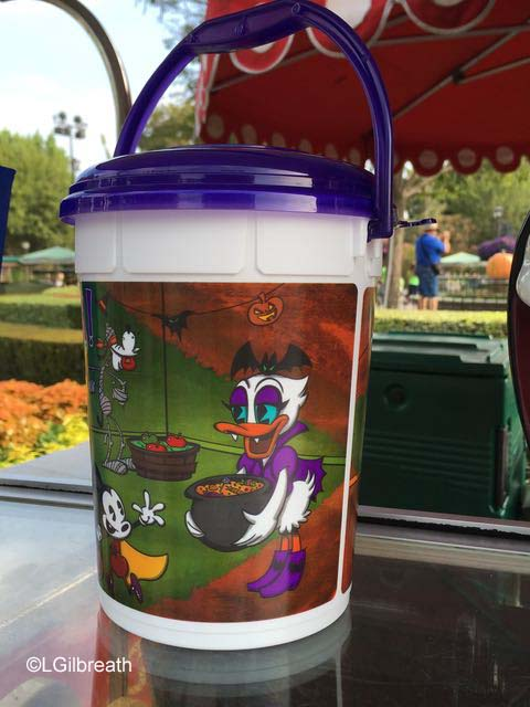 Halloween Disneyland popcorn bucket