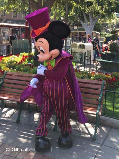 Halloween Time Vampire Mickey