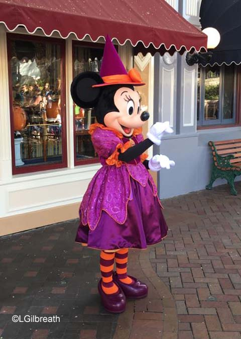 Halloween Time witch Minnie
