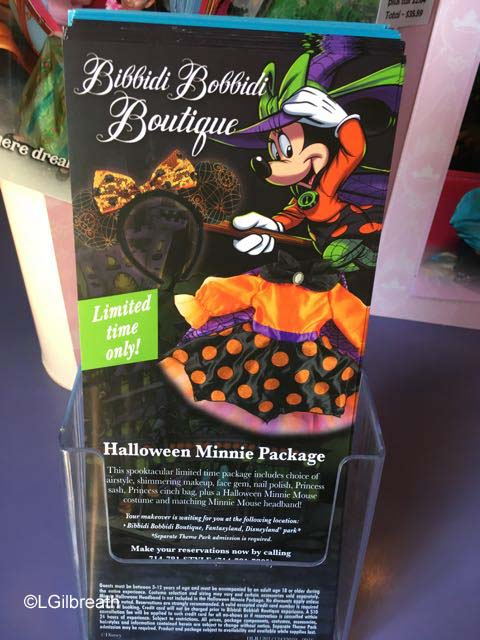 Halloween Minnie Bibbidi Bobbidi Boutique