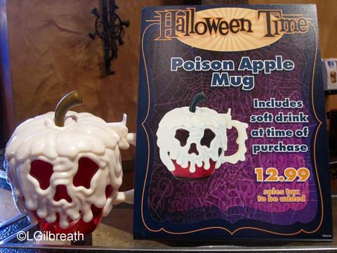 Halloween Time Poison Apple Mug