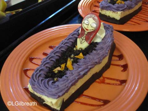 Halloween Time Coffin Cake