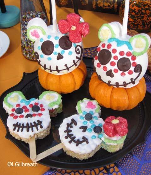 Disneyland Dia de Los Muertos treats