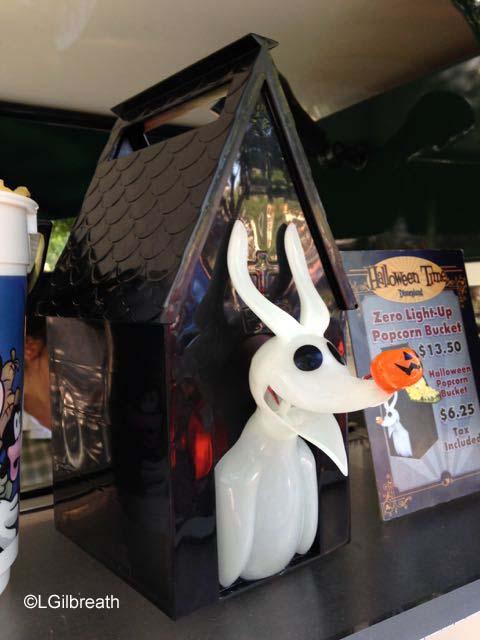Disneyland Halloween Zero popcorn bucket