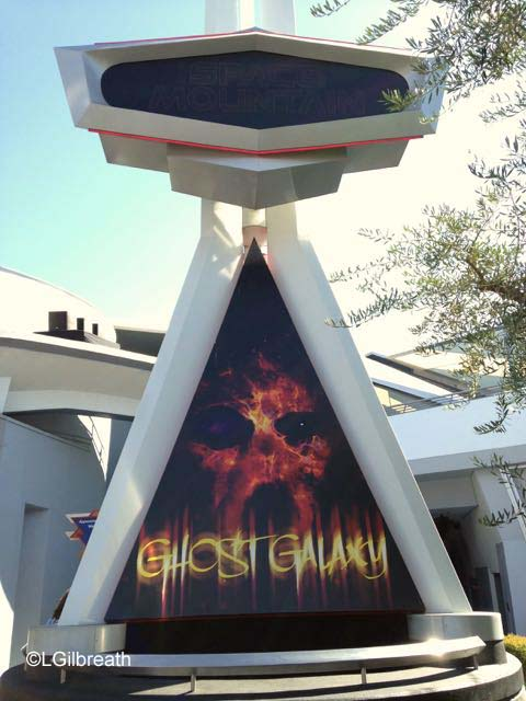 Disneyland Space Mountain Ghost Galaxy