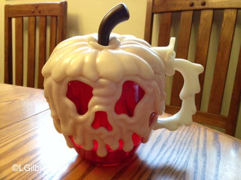 Disneyland Poison Apple Stein