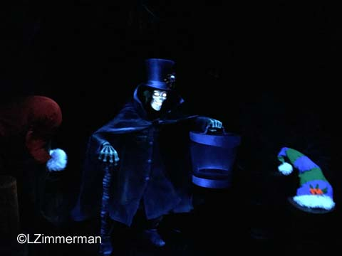 Disneyland Christmas Hat Box Ghost