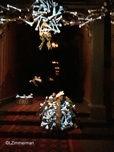 Disneyland Haunted Mansion Zero